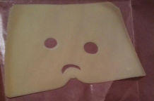 Sad cheese is sad